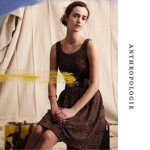 🐆DELETTA🐆 Deletta Flared Neovision Leopard Dress